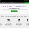 Visual Studio Tools for Unity ( UnityVS ) を無料の Visual Studio Community 2013 で使おう