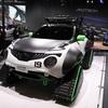 ● 東京オートサロン2019で初公開されたクローラーを装着した日産 ジュークのコンセプトカー