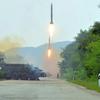 北朝鮮メディア、ミサイル発射映像公開 5日のノドンか