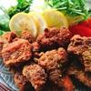カレー味の鶏唐揚げ
