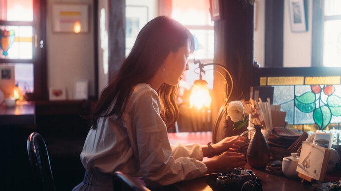 アンティークな光とやさしい人柄に包まれる―純喫茶「平均律」