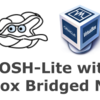 BOSH-Lite in VirtualBoxでブリッジアダプターを使用しリモート接続する