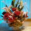 がんばる花たち