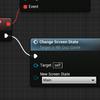 そうだ、UE4でQUIZゲームを作ろう《おまけ編》いーなむで切り替えをわかりやすく