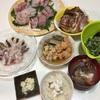 魚三昧の夕飯①
