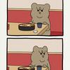 悲熊「ざるそば」