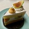 🚩外食日記(791)    宮崎   「ニココペッシュ(Sweets Shop Nicoco Peche)」⑦より、【青いちじくショートケーキ】【ブルーベリータルト】‼️