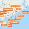 【釣り場調査】調査済み釣り場マップ