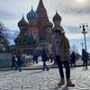 人生初のモスクワ行ってきました!!!