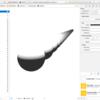 iOS で SceneKit を試す(Swift 3) その14 - Scene Editor の Scene Inspector と Scene 設定