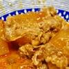 豊洲の「米花」で韓国風豚大根、ロールキャベツ入り具沢山スープ。
