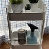 IKEAのワゴン(ロースフルト)と電池式オートスプレー(SPICE OF LIFE)♪