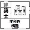 【資格】一級建築士試験~学科Ⅳ(構造)~
