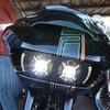 パーツ:Paul Yafee's Bagger Nation「Crossfire Headlight for 2015 and later Road Glides」