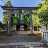 赤塚城の鬼門除け 赤塚諏訪神社