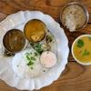 San curry(サンカリー)で1周年記念プレート@鵠沼