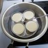 プリンの加熱方法は「蒸す」のが簡単。オーブンで焼くのは上手くできませんでした