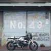 053.BMW R9Tと48番倉庫