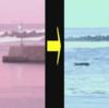 【灯台倒壊】高知県四万十町興津の浦分漁港の8mの『浦分港防波堤灯台』が倒壊!台風19号にともなう強風や高波が原因か!台風19号はまもなく静岡県に上陸する見込み!