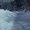 重い雪、路面の悪化