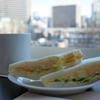 【ベローチェが好き】ふんわりパンの玉子サンドが美味っ!ちょっと甘いやさしい味がたまらんのん。