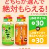伊藤園のお~いお茶HOT商品でLINEポイント30Pをもらおう!ほうじ茶もOK!