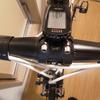 ロードバイクにDHバーを付ける為にハンドルの変更