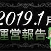 【2019年1月】ブログ運営報告(11ヶ月目)分析&まとめ ブログ関連 PV・収益