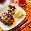 【東区】モグモグカフェ。ワッフルが絶品!人気パティスリーの妹カフェ。