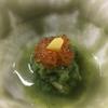 緑酢和え。