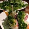 UBU Cafe@新宿ルミネエスト8Fでパクチーコース