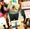 「手作りブックの体験講座」仲良しキッズたちが夏休みの本作り(出張講座)