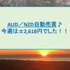 AUD/NZD自動売買 1月第2週+2,618円