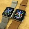 Apple Watch series1 と series2 を並べて比較してみる