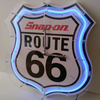 Snap-on Route66 Neon Clock