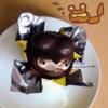 絶滅危惧種?!昭和レトロなたぬきケーキを食べるよ。