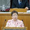 宮川議員が一般質問。医療、介護の人材不足、貧困、教育問題などを取り上げました。