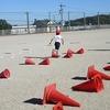 やまびこ:体育 ハードル&ドッジボール