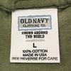 624 第1弾 ビンテージ OLD NAVY 無地ポケットTシャツ