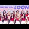 2018. 8. 29. All kpop 今月の少女(LOONA) インタビュー