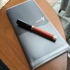 プラスのノート、カ.クリエ プレミアムクロスが非常に良い感じでハマってます。