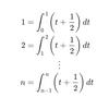 積分を使って自然数のべき乗の和を求める私