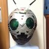 新聞紙で仮面ライダーのマスクを自作する試み