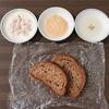 全粒粉パンに一番合うのはどれ?亜麻仁油、梅ヨーグルト、味噌マヨで試してみた