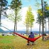紅葉とハンモックの自転車デイキャンプ(ふもとっぱら)