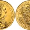 リヒテンシュタイン1721年ヨーゼフヨハンアダム10ダカット金貨リストライク