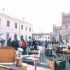 イタリア 生ハムの産地 Montagnana(モンタニャーナ)の蚤の市
