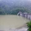 豪雨のあとの犀川源流域・倉谷川(土石の大量流入)