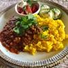 野菜とスパイスで作るカレールーのレシピ【レンズ豆のベジスパイスカレー】【スロージューサーレシピ】