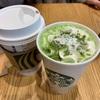 【スタバ】クリスマスカラーの緑が映える『抹茶×抹茶ホワイトチョコレート』